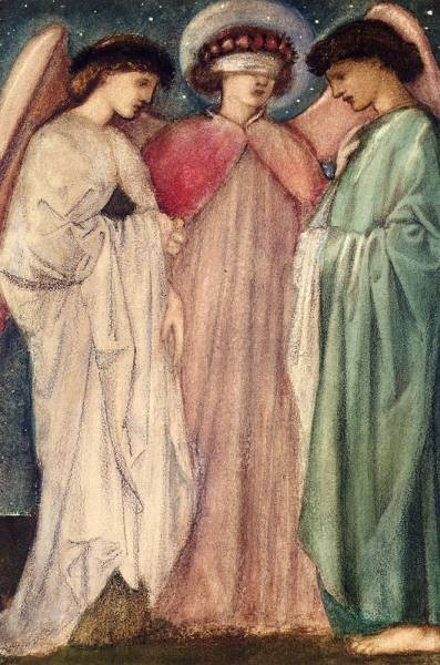 Burne Jones Sir Edward Coley The First Marriage